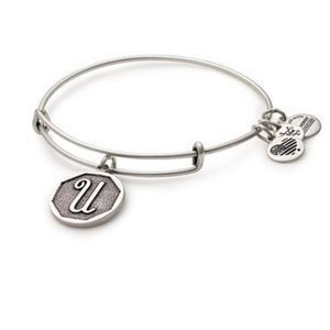 "Alex and Ani ""G"" initial bracelet/bangle"